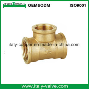 Quality Brass Forged Pipe Equal Tee (AV-70024) pictures & photos