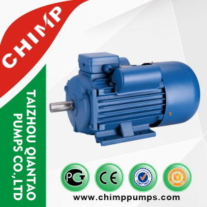 Chimp Ce Aprroved My Series Capacitor-Start Induction Aluminum 2 Poles 180W Single-Phase Electric Motor pictures & photos