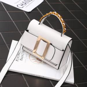 2017 New Summer Retro Wild Shoulder Bag Chain Handbag Female Bag Messenger Bag Lock Small Square Shoulder Bag pictures & photos