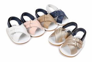 Baby Girls Boys Sandals Summer Shoes First Walkers pictures & photos