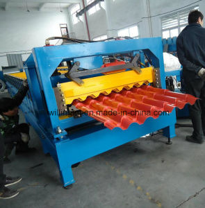 Modular Steel Roof Tile Roll Forming Machine pictures & photos