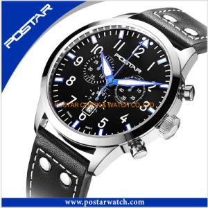 Factory Direct Wholesale Sports Watches Casual Stainless Steel Wrist Watch pictures & photos
