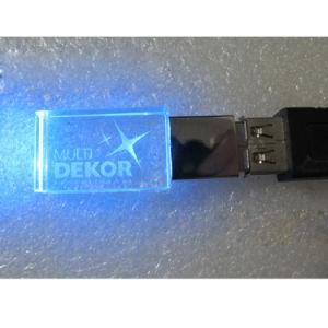 Crystal USB Flash Drive 4GB 8GB 16GB 32GB USB 2.0 Memory Drive Stick Pen Drive pictures & photos