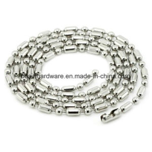 Small 1.5mm Metal Ball Chain with Connector pictures & photos