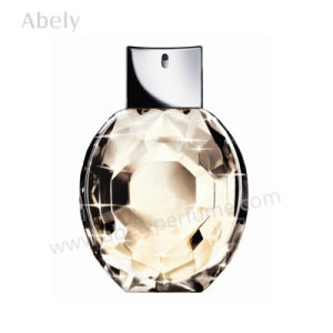 Bespoke Polished Crystal Perfume Bottle with Perfume Atomizer pictures & photos
