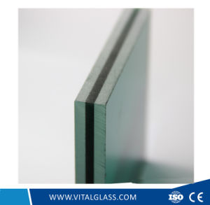 Green/Blue/Grey/Clear/Bronze Laminated Glass with Csi (L-M) pictures & photos