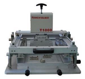 Manual Stencil Printer T1000 pictures & photos