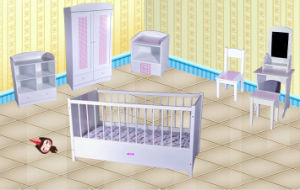 Wood Crib, WJ278151 pictures & photos