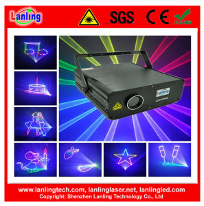 2.5W RGB Ilda Animation Laser Stage Light Logo Projector pictures & photos