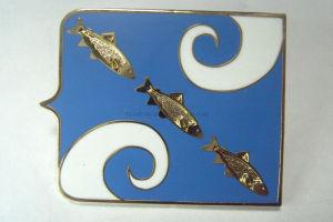 Gold Imitated Hard Enamel Pin Badges Metal Badges Lapel Pins pictures & photos