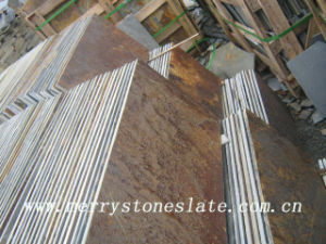 Natural Rusty Flooring Slate Tiles 2