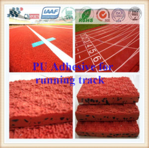 PU Glue/Adhesive for Sports Flooring, Synthetic Runway, Rubber Running Track pictures & photos