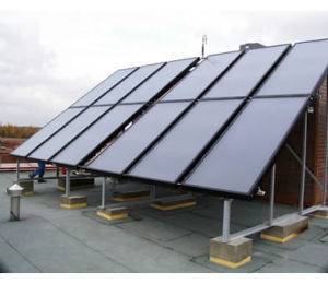 Flat Panel Collector for Solar Water Heater (SLFPC)
