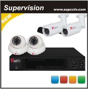 4 Channel H. 264 Network Video Server IP Camera NVR Kits (SV-N6004KIT-B)