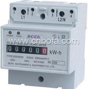 Single Phase Din Rail Energy Meter Type (DDS999D)