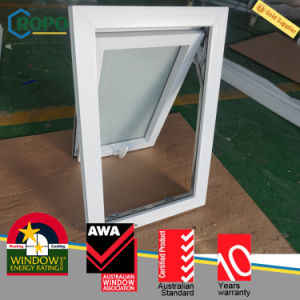 German Veka Frame UPVC/PVC Double Glazed Top Hung Window pictures & photos