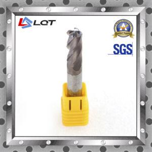 Solid Carbide End Mill / High Precision 4 Flute F183 Smtcl CNC Machine pictures & photos