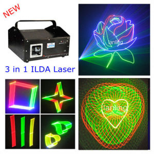1W 3D RGB Laser Show System Disco Laser Light pictures & photos
