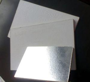 PVC Gypsum Plank With Aluminium Foil on The Back