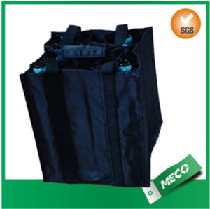 Customer Design Non Woven Wine Bag Beer Bag Bottle Nonwoven Bag (MECO497) pictures & photos