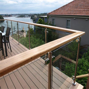 Balcony Glass Railing Systems / Tempered Glass Deck Railing pictures & photos