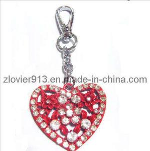 Metal Heart Keychain (ZKC-14)