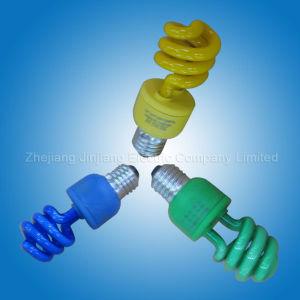 Colour Half Spiral Energy Saving Lamp (46)