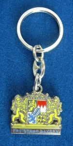 Zinc Alloy Keychain