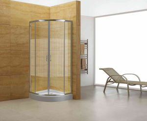 Coner Shower Door (RSH-LQ-0101-10) -- 4mm Glass