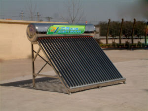Stainless Steel Solar Water Heater pictures & photos