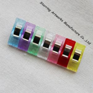 High Quality 27mm Quilt Patchwork Fabric Plastic Colorful Wonder Clips