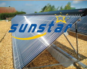 Heat Pipe Solar Collector for Swimming Pool Project pictures & photos