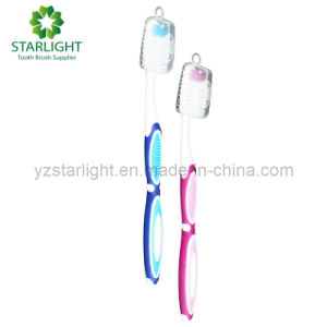 High Quality Adult Toothbrush with Cap (859) pictures & photos