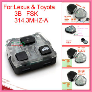 Remote Interior for 2005-2009 Toyota Camry with 3 Button 314.3MHz pictures & photos