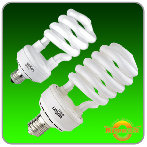 High Power Half Spiral Electronic CFL
