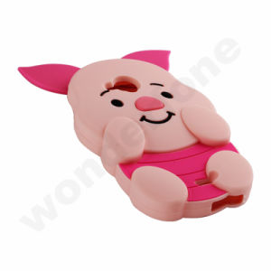 Pig Shape Silicone Protector for iPhone 7 Plus 5.5′′ pictures & photos