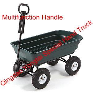 Multifunction Handle Garden Dump Cart for Sale pictures & photos