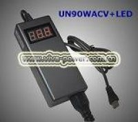 UN90WACV+LED 90W Automatic Adjust Universal AC Adapter for Laptop (UN90WACV+LED)