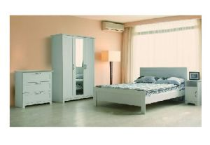 European Country Style Wood Bedroom Sets (bed, dresser, wardrobe) (B-009)