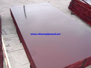 12mm Poplar Core Brownfilm Faced Plywood with High Quality (HT-FFP-026)