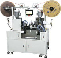 Full Automatic Double Ends Flat Wire Terminal Crimping Machine pictures & photos