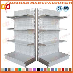 New Customized Supermarket Retail Display Wooden Rack (Zhs259) pictures & photos