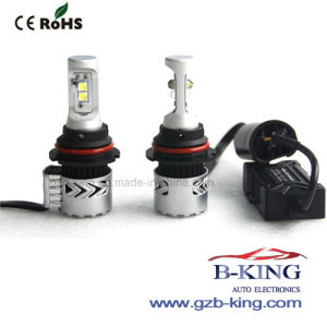 9007 H/L 6000lm 6500k CREE-Xhp50 Auto LED Headlight pictures & photos