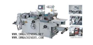 Make Money CE Standard Full-Automatic Roll-Roll Continuous Free Adhesive Tape Die Cutter (MQ-320)