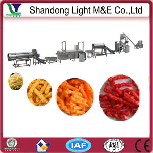 Best Selling Automatic Crispy Fried Raw Kurkure Production Line pictures & photos