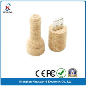128MB to 32GB Wood Wine USB Flash Drive (KW-0221)