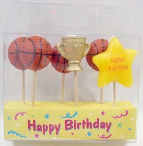 Basketball Toothpick Candle (UCT5016)