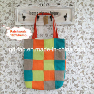 Hemp Patchwork Bag (HPB-06) pictures & photos