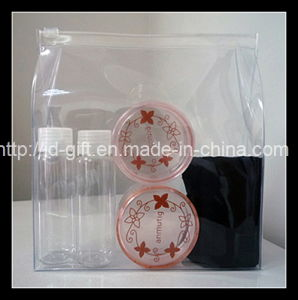 Customzide Design Clear PVC Cosmetic Package Bag pictures & photos