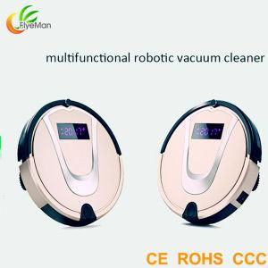 Super Silent Intelligent Robotic Vacuum Cleaner with Remote Control pictures & photos